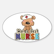 The World's Best Nurse Decal