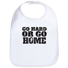 Go Hard Or Go Home Football Bib