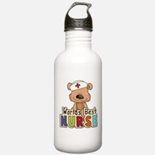 The World's Best Nurse Sports Water Bottle