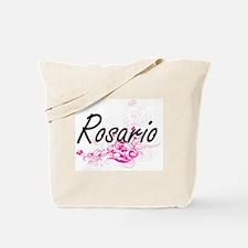 Rosario surname artistic design with Flow Tote Bag