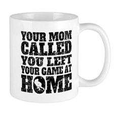 You Left Your Game At Home Rugby Mugs