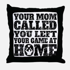 You Left Your Game At Home Volleyball Throw Pillow