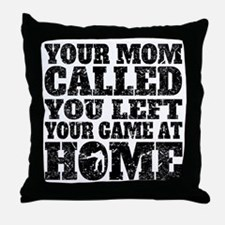 You Left Your Game At Home Billiards Throw Pillow