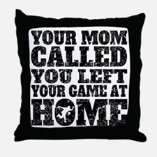 You Left Your Game At Home Bowling Throw Pillow