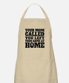 You Left Your Game At Home Baseball Apron