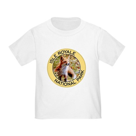 Isle Royale NP (Red Fox) Toddler T-Shirt