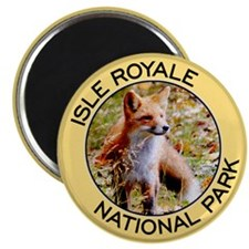 Isle Royale NP (Red Fox) Magnet