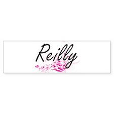 Reilly surname artistic design with Bumper Bumper Sticker