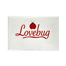 Lovebug Rectangle Magnet