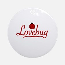 Lovebug Ornament (Round)