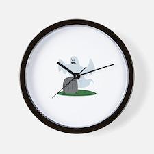 RIP Ghost Wall Clock