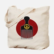 Peace and Nappyness Tote Bag