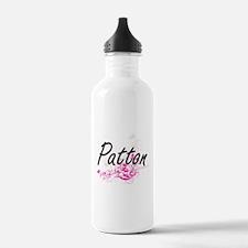 Patton surname artisti Water Bottle