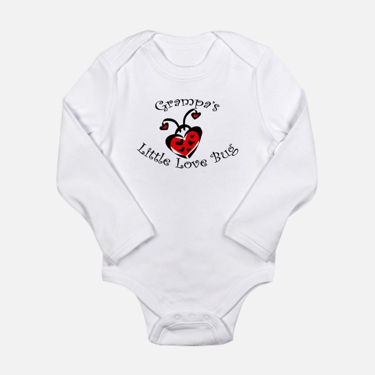 Cute Baby valentine%27s day Long Sleeve Infant Bodysuit