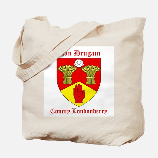 Clan Drugain - County Londonderry Tote Bag