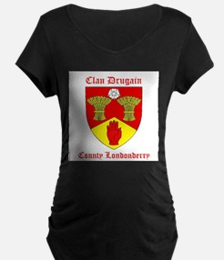 Clan Drugain - County Londonderry Maternity T-Shir