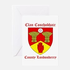 Clan Conchobhair - County Londonderry Greeting Car