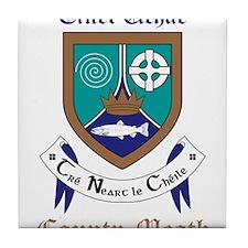 Cinel Uchae - County Meath Tile Coaster