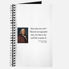 Benjamin Franklin 14 Journal