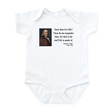 Benjamin Franklin 14 Infant Bodysuit
