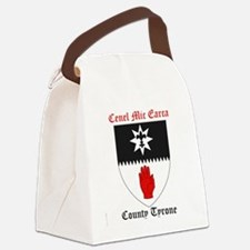 Cenel Mic Earca - County Tyrone Canvas Lunch Bag