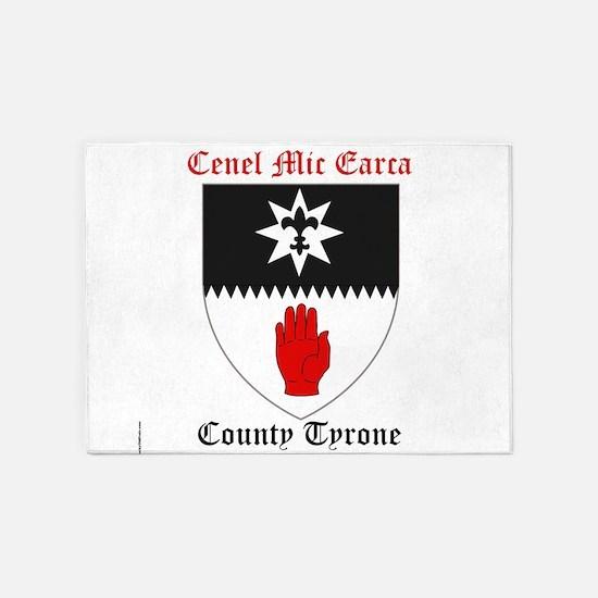 Cenel Mic Earca - County Tyrone 5'x7'Area Rug