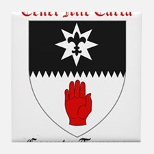 Cenel Mic Earca - County Tyrone Tile Coaster