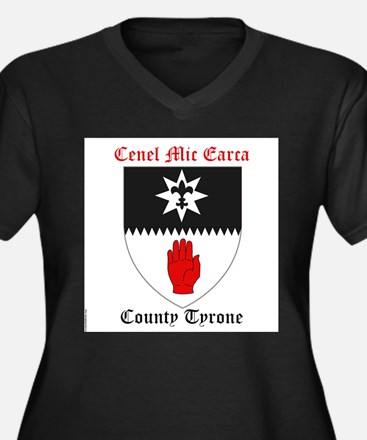 Cenel Mic Earca - County Tyrone Plus Size T-Shirt