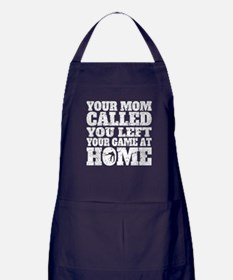 You Left Your Game At Home Billiards Apron (dark)