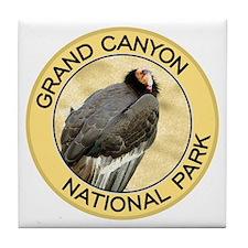 Grand Canyon NP (California Condor) Tile Coaster