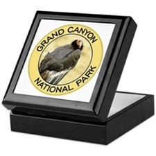 Grand Canyon NP (California Condor) Keepsake Box