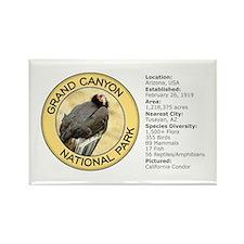 Grand Canyon NP (California Condor) Rectangle Magn