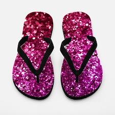 Cool Glitter Flip Flops