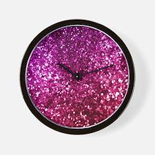 Cute Magenta Wall Clock