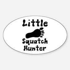 Little Squatch hunter Decal