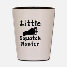 Little Squatch hunter Shot Glass