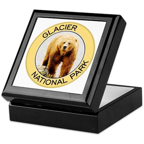 Glacier NP (Grizzly Bear) Keepsake Box