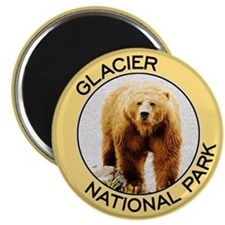 Glacier NP (Grizzly Bear) Magnet