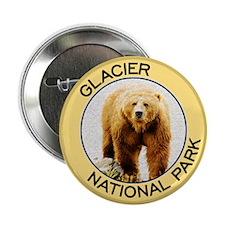 Glacier NP (Grizzly Bear) Button