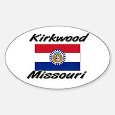 Kirkwood Missouri Oval Decal
