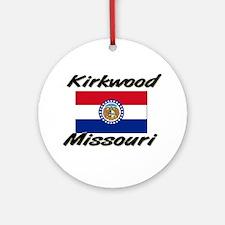 Kirkwood Missouri Ornament (Round)