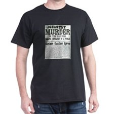 Jack the Ripper Wanted Poster T-Shirt