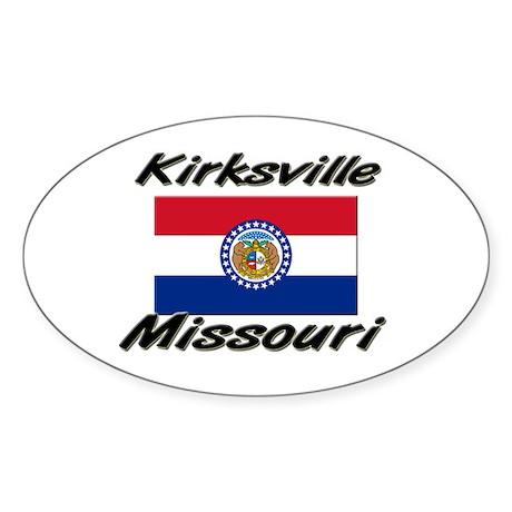 Kirksville Missouri Oval Sticker