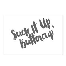 Suck It Up, Buttercup Postcards (Package of 8)