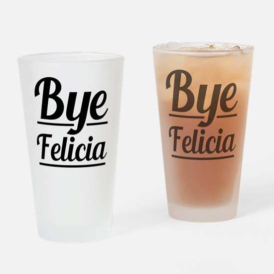 Unique Felicia Drinking Glass