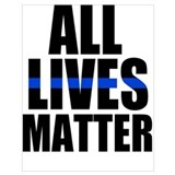 Blue lives matter Posters