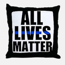 All matter Throw Pillow