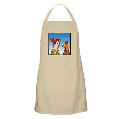TEACHER & DACHSHUND BBQ Apron