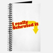I Really Schruted It Journal