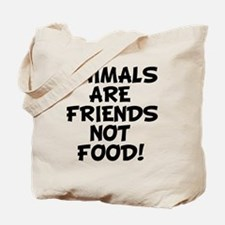 Cool Cows are friends not food Tote Bag